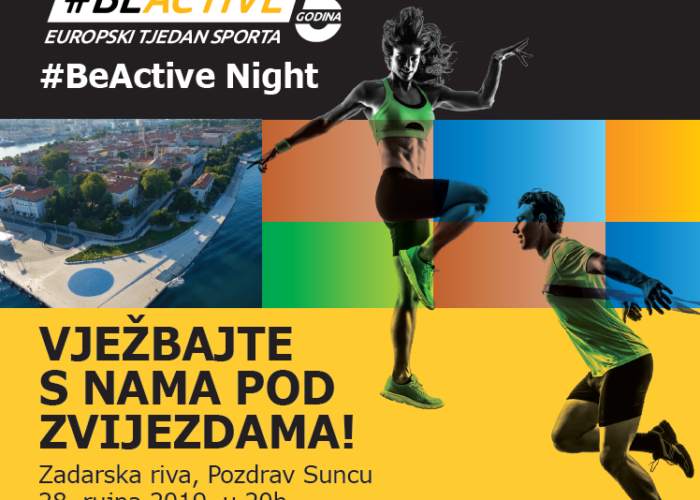 #BeActive Night 2019.